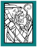 Jezusowy Dobry Pasterski d ilustracji