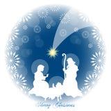 Jezusowy narodzenie jezusa ilustracji