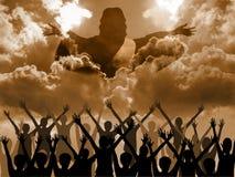 Jezusowy przybycie Fotografia Royalty Free