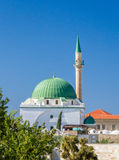 The Jezzar Pasha Mosque in Akko, Israel Royalty Free Stock Images