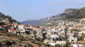 Jezzine, Ливан Стоковая Фотография RF