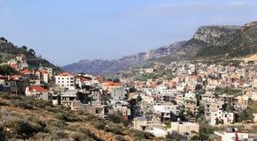 Jezzine, Lebanon. The village of Jezzine in southern lebanon royalty free stock photography