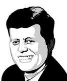 JFK ilustración del vector