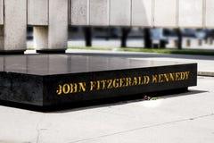JFK-Denkmal Stockfoto