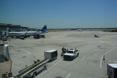 JFK-Flughafen 14 Lizenzfreies Stockbild
