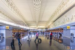 JFK-flygplats Royaltyfri Fotografi