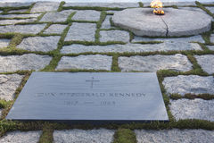 JFK Gravesite Stock Images