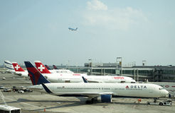JFK International Airport New York USA Royalty Free Stock Photos
