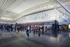 JFK Lotnisko Miasto Nowy Jork Obrazy Stock