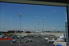 JFK-Luchthaven 9 Stock Afbeelding