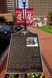 JFk Memorial in Ft Worth, Texas Stock Images