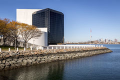 JFK Museum. The architecture of JFK Library and Museum in Boston, MA, USA Stock Photography