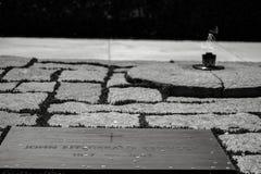 JFK ` s grobowiec obraz stock