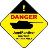 JgPanther-Zeichendesign Lizenzfreie Stockbilder