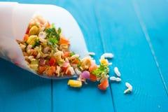 Jhal Muri - alimento de petisco indiano Imagem de Stock