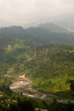 Jhalong Valley - Jhalong, West Bengal, India Royalty Free Stock Photography