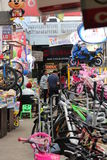 Jhandewalan-Zyklus-Markt, Neu-Delhi Stockfotografie