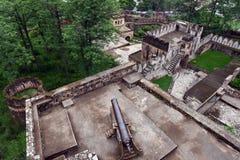 Jhansi-Fort - Artillerie Lizenzfreies Stockfoto
