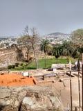 Jhansi fort av ranilaxmien bai Royaltyfria Foton