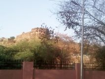Jhansi fort. In india at u.p state Stock Photos