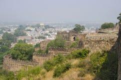 Jhansi fort, Jhansi, Uttar Pradesh stat av Indien arkivfoto