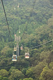 The Maokong Gondola in Taibei,Taiwan Stock Photo