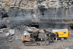 Jharia Coalfield Stock Photography