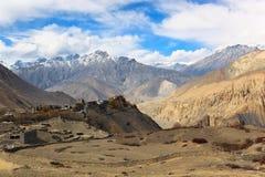 Jharkot, Népal Photos stock