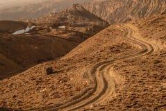 Jharkotdorp, Mustang, Nepal Stock Afbeelding