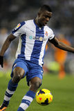 Jhon Cordoba of RCD Espanyol Stock Photography