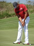 Jhonattan Vegas golf - olimpiady Rio 2016 - obraz stock