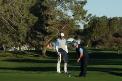 Jhonatttan Vegas 2012 Farmers Insurance Open Royalty Free Stock Images