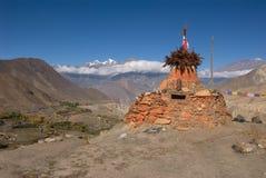Jhong Khola valley Stock Photography