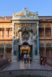 Jhunjhunu, Rajasthan, India: Oct 03rd, 2015: Indian Deity Sati God temple in Rajasthan Sati  is an obsolete Indian funeral custom. Stock Photography