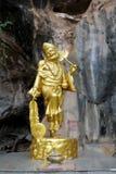 Ji Gong Statue. Gold Ji Gong Chinese monk Statue Stock Images