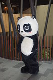 Jia Jia Panda Mascot River Safari Singapore imagens de stock