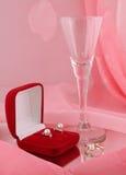 A jóia no espelho Fotografia de Stock Royalty Free