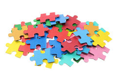 Jiagsaw Puzzle Pieces Royalty Free Stock Photo