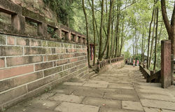 Jiajiang China-Spacious visitors to the channel Stock Photos