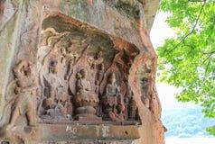 Jiajiang mil penhascos da Buda em sichuan, porcelana Imagens de Stock Royalty Free