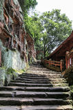 Jiajiang mil penhascos da Buda em sichuan, porcelana Fotos de Stock Royalty Free