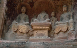 Jiajiang mil penhascos da Buda em sichuan, porcelana Foto de Stock