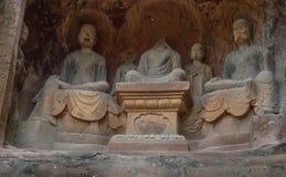 Jiajiang mille scogliere di Buddha in Sichuan, porcellana Fotografia Stock