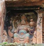 Jiajiang thousand Buddha cliff in sichuan,china Stock Images
