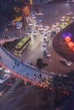 Jialiang bridge road at night Royalty Free Stock Photography
