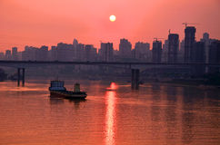 Jialing River Royalty Free Stock Photo