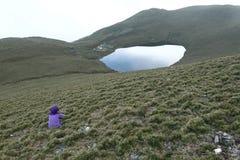 Jiaming sjö Arkivfoto