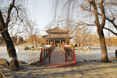 Jianbi Pavilionin in Peking Lizenzfreie Stockbilder