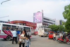 An Jiang, China: city landscape Stock Photo