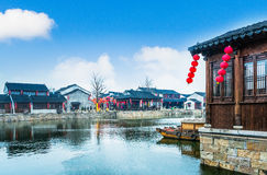 Jiang Jiangnan ancient town in Xitang Province Stock Photography
